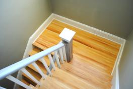 Faux Wood Graining in Private Residence