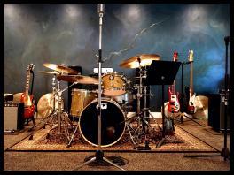 Installation Art-Back drop Music room